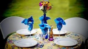 Summer table set