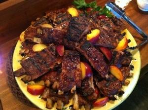Classic BBq pork ribs