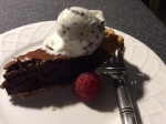 brownie pie wedge